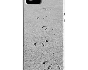 Beach iPhone 6s Case - Footprints iPhone 6s Plus Cover - Foot Prints iPhone 5s Case - Beach iPhone 5C Case - iPhone 5 Case iPhone 4/4s Case