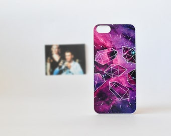 Galaxy iPhone 5 Case - iPhone 4 / 4s and iPhone 5 / 5s Case - Nebula iPhone 5 Case - Geometric iPhone Case - Diamond iPhone Case