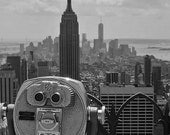 Empire State Building New York Black and White 8x10 photograph