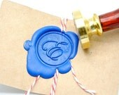 B20 Wax Seal Stamp Personalized Custom Initial