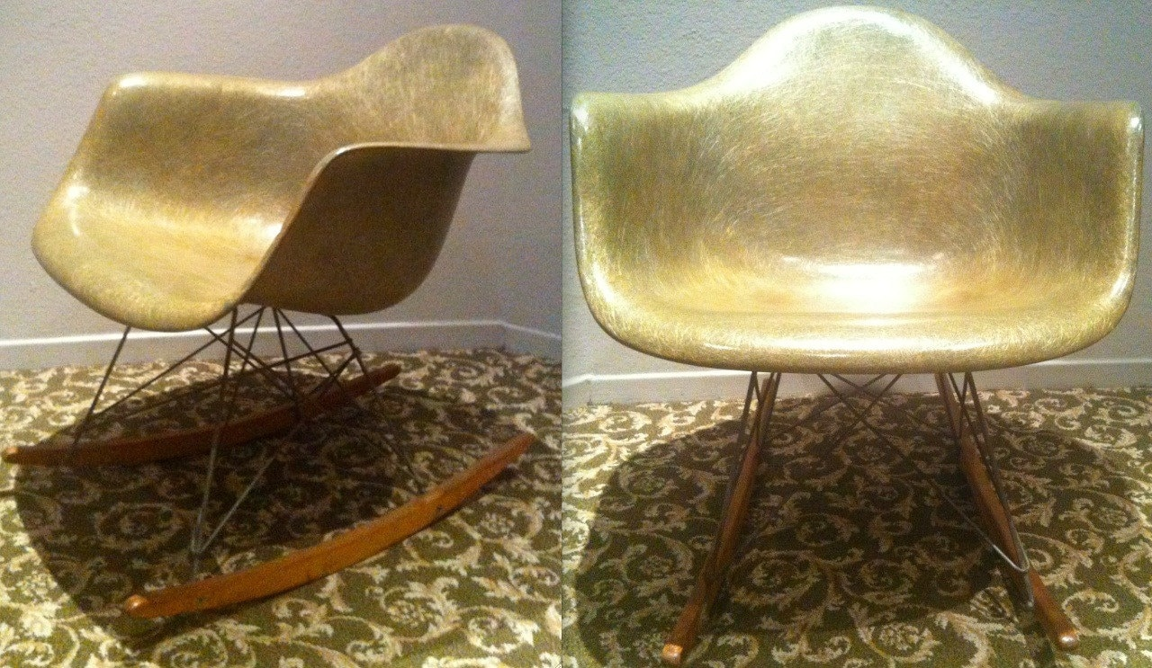 eames rocking chair green. 🔎zoom eames rocking chair green