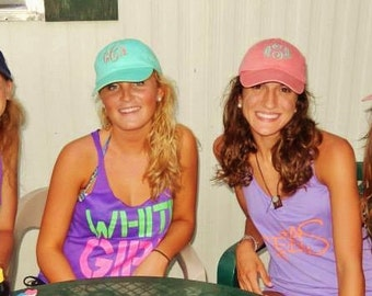 Ladies' Monogrammed Baseball Cap by Mad about Monograms- Choose from 20 Colors