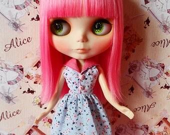 Blythe Dress - Liberty Blue