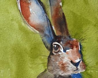 Bunny Print Etsy
