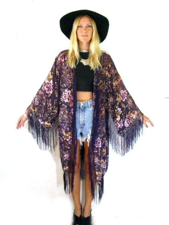 Fringe Kimonos