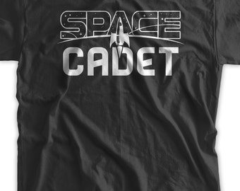 Space Cadet T-Shirt Astronomy planets T Shirt Family Mens womans space youth planets tshirt