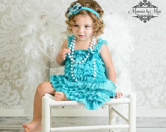 Flower girls dress- China Jade lace Dress, Stunning  blue dress,Girls dress, Birthday dress, Blue dress, toddler dress, dress,wedding dress