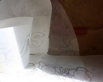 Embroidery patterns 5pcs