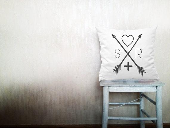 Monogrammed pillows monogram pillow decorative by HomeLivingIdeas
