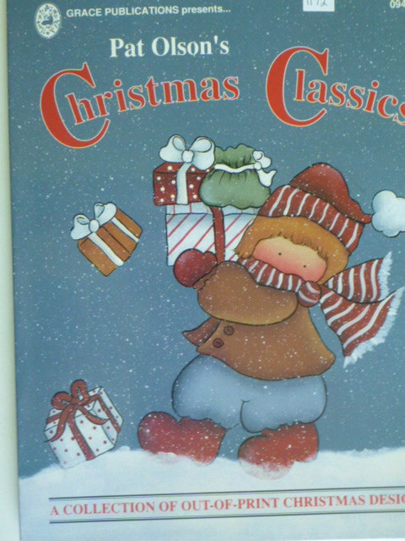 Tole Painting Book - Christmas Classics by Pat Olson : 1172