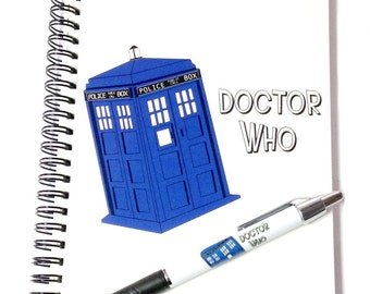 Doctor Who Notebook and Pen Set