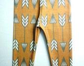 SALE - Rust Arrow organic cotton leggings