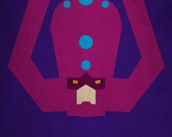 Galactus Minimalism Print