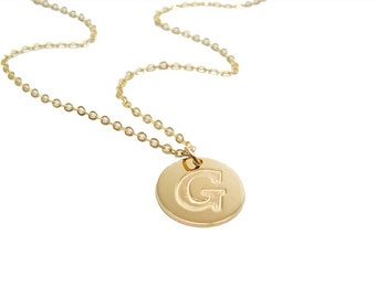 Initial Personalized gold Necklace. gift for her, monogram jewelry, initial pendant, initial jewelry, bridesmaid gift
