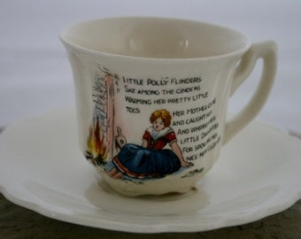 Little Polly Flinders Tea Cup