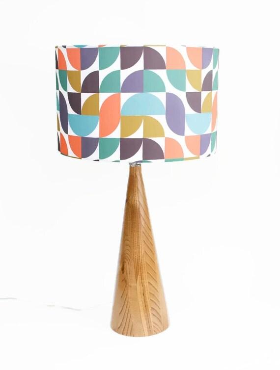 modern lamp shade pendant light swag lamp choose your size mod. Black Bedroom Furniture Sets. Home Design Ideas