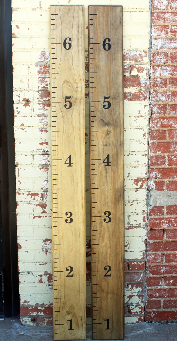 Diy Growth Chart Ruler Vinyl Decal Kit By Littleacornsbyro