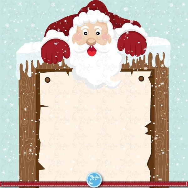 christmas clipart christmas santa clip art. Black Bedroom Furniture Sets. Home Design Ideas