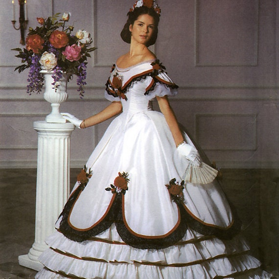 Civil War Ball Gowns For Reenactments 47