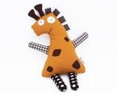 Giraffe Stuffed Animal. Giraffe Plush for Newborns, Babies and Toddlers