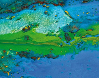 Abstract Earth Art Magnets 101