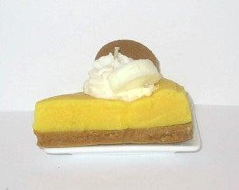 Banana Pie Slice Candle