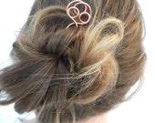 Hair Fork, Hair Stick, Hair Accessories, Hair, Copper, Women,  Accessories, Gifts, Hair Pin, Pins, Hammered Copper, Hair Clip, Hair Bun,