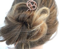 Hair Fork, Hair Stick, Hair Accessories, Hair, Copper, Women,  Accessories, Gifts, Hair Pin, Pins, Hammered Copper, Hair Clip, Hair Bun,