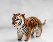 Tiger Figurine OOAK Handmade Polymer Clay Animal Totem