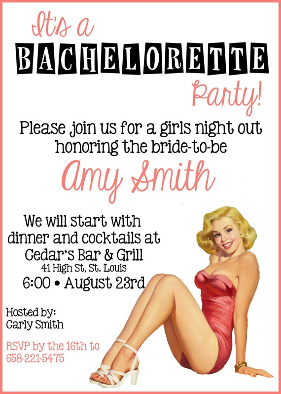 Bachelor Party Invitation Message as nice invitation ideas