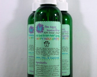 Hot Spot & Itch Relief Spray - Healing Dog Spray - Hippy Housepets - Eco-Friendly Packaging