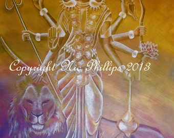 Goddess Durga (prints and cards)