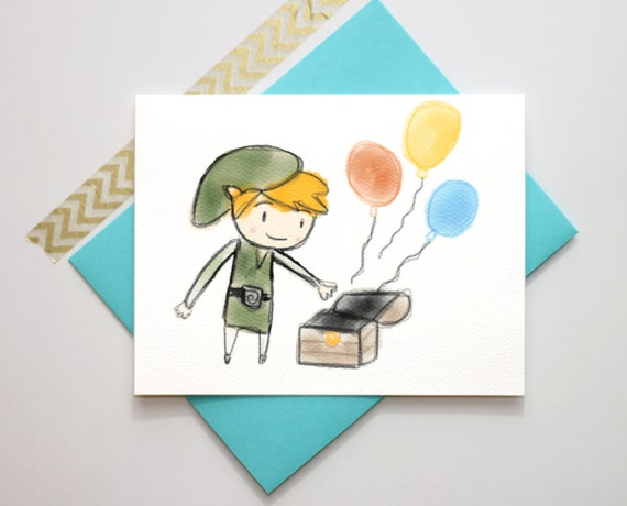 Snap Zelda Birthday Card Etsy Photos On Pinterest