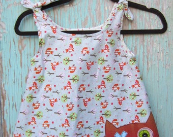 SALE- Reversible monster dress