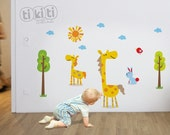 Giraffe Decal for Baby's Room or Bursery