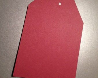 Burgundy Hang Tags