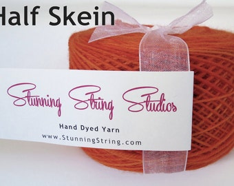 Half Skein Stunning Superwash Fingering Weight - 100% Superwash Merino