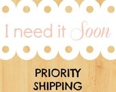Priority Shipping Upgrade 2-3 days (within US only)