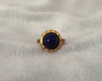 Vintage Austria signed Blue Ring