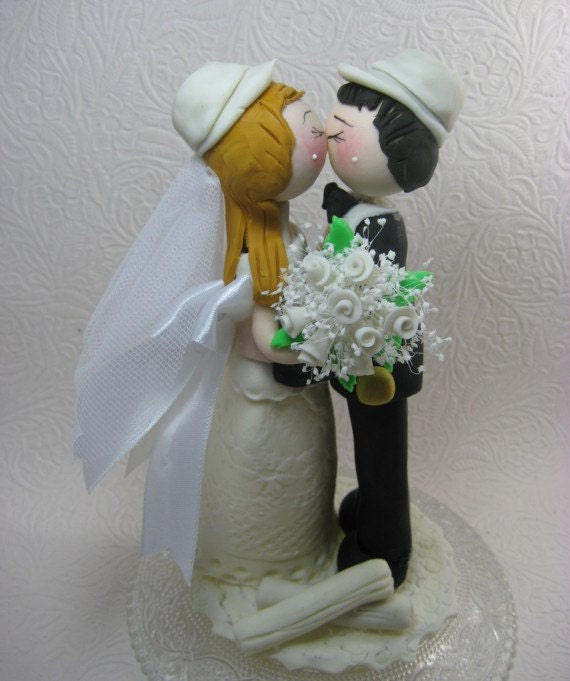 Funny Wedding Cake Topper Custom Wedding Cake By CuteToppers
