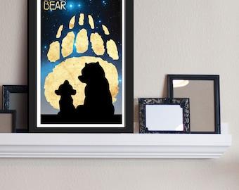 Kenai & Koda - Brother Bear / Disney Inspired - Movie Art Poster