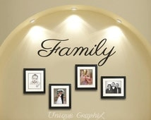 Family Wall Decal Vinyl sticker