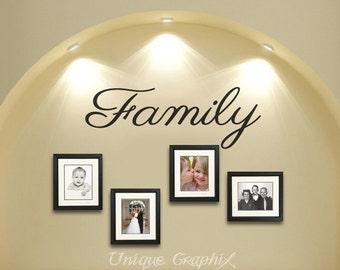 Family Wall Decal Vinyl sticker