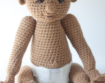 Crochet Doll Amigurumi Toy (The Newborns) - Made to Order