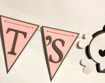 It's A Girl Baby Banner, Baby Shower Decorations, Party Decorations, Rockstar Theme