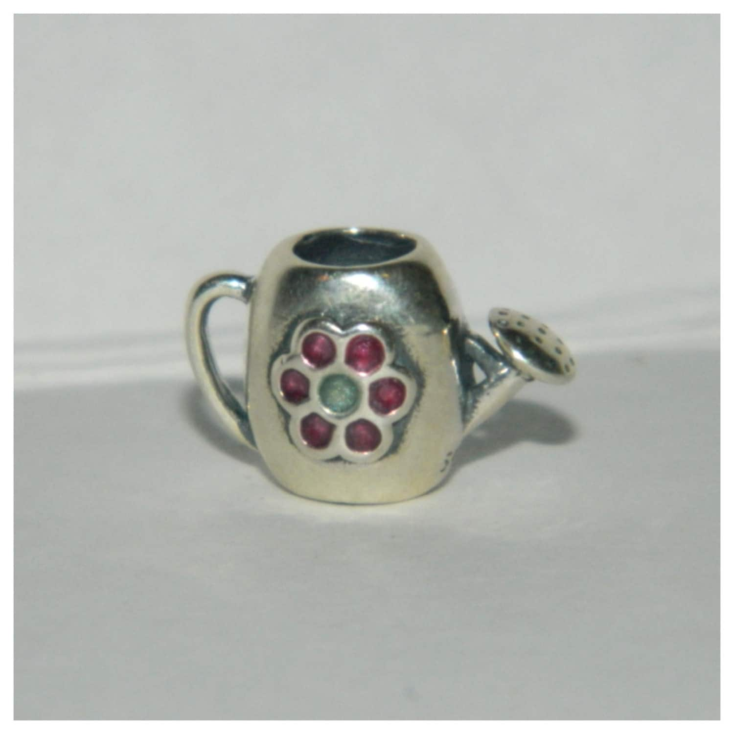 Garden Charms: Authentic Pandora Charm My Garden Water Can S925 By