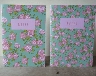 Illustrated Notebooks: English Rose
