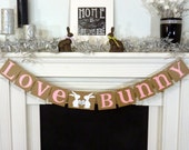 Valentine's Decoration Banner / I Heart You / Valentine Banner / Valentine's Decorations / Love Sign Be Mine Garland / Silver Glitter Heart