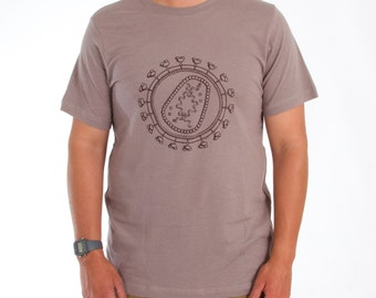 HIV Virus Screen-Printed Science Nerd T-Shirt - Men's & Women's