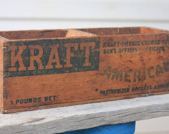 Vintage Cheese Boxes